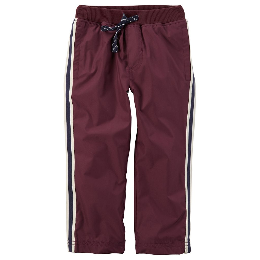 Toddler Boy Carter's Matte Woven Athletic Pants