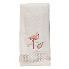Saturday Knight, Ltd. Coral Gables Flamingo Hand Towel