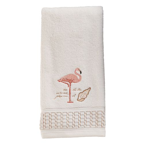 Saturday Knight, Ltd. Coral Gables Flamingo Hand Towel