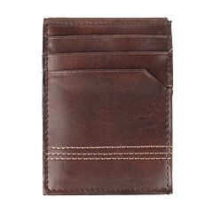 Men's Croft & Barrow® RFID-Blocking Magnetic Front-Pocket Wallet