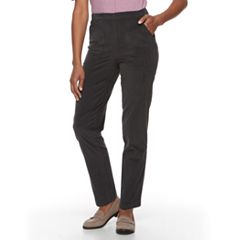 Women's Croft & Barrow® Perfectly Slimming Straight-Leg Corduroy Pants
