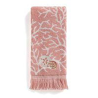 Saturday Knight, Ltd. Coral Gables Seashell Hand Towel