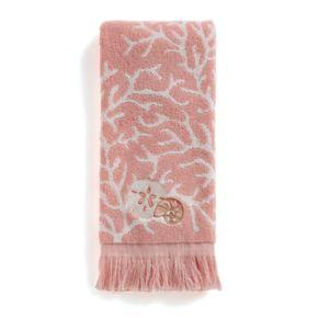 Saturday Knight, Ltd. Coral Gables Seashell Hand Towel