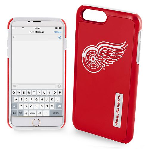 Forever Collectibles Detroit Red Wings Impact Dual Hybrid iPhone 7 Plus Case