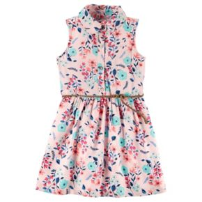 Toddler Girl Carter's Floral Shirtdress