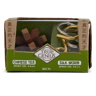 True Genius Chinese Tea & Silk Worm Puzzles