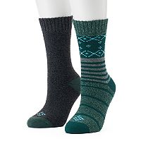 Women's Columbia 2-pk. Cushioned Crew Socks