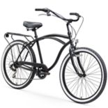 Men's sixthreezero Around The Block 26-Inch Cruiser Bike with Rear Rack