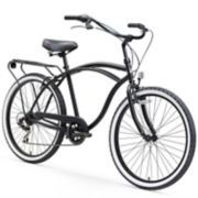 Men's sixthreezero Around The Block 26-Inch Cruiser Bike with Rear Rack