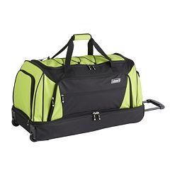 Coleman 30-Inch Drop Bottom Wheeled Duffel Bag