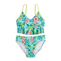 Girls 7-16 SO® 2-pc Floral Bikini Swimsuit Set