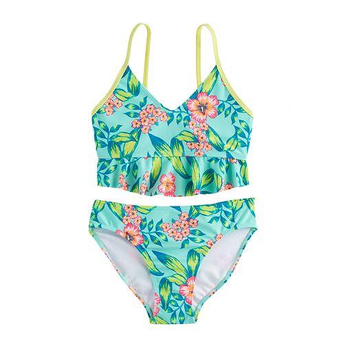 Girls 7-16 SO® 2-pc Floral Bikini Swimsuit Set