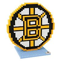Forever Collectibles Boston Bruins BRXLZ 3D Logo Puzzle Set