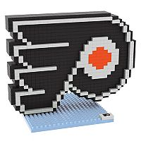 Forever Collectibles Philadelphia Flyers BRXLZ 3D Logo Puzzle Set