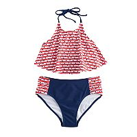 Girls 7-16 SO® Patriotic 2-pc. Bikini Swimsuit Set