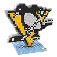 Forever Collectibles Pittsburgh Penguins BRXLZ 3D Logo Puzzle Set