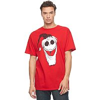 Men's Nightmare Before Christmas Santa Jack Tee