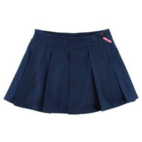 Toddler Girl Carter's Pleated Uniform Skirt