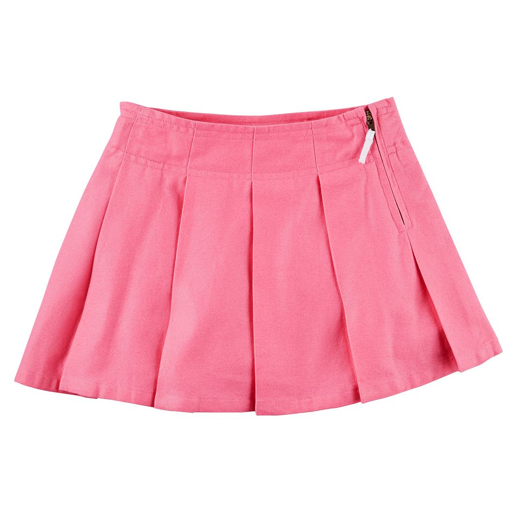 Toddler Girl Carter's Pleated Uniform Skirt