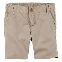 Toddler Girl Carter's Twill Uniform Shorts