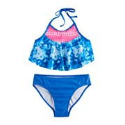 Girls 7-16 SO® 2 pc Tie-Dye Bikini Swimsuit Set