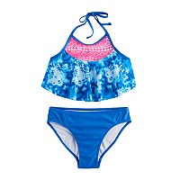 Girls 7-16 SO® 2-pc Tie-Dye Bikini Swimsuit Set
