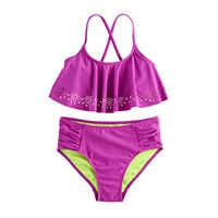 Girls 7-16 SO® 2 pc Bikini Swimsuit Set