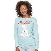 Junior's Fifth Son Coca-Cola Polar Bears Pull Over Sweatshirt