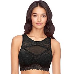 Juniors' Candie's® High Neck Lace Bralette