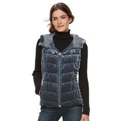 Women's BNCI Velvet Vest