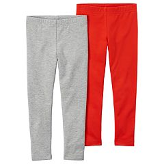 Girls 4-8 Carter's 2-pk. Solid Leggings