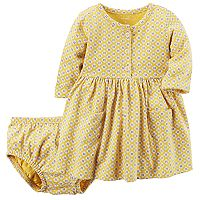 Baby Girl Carter's Print Knit Dress