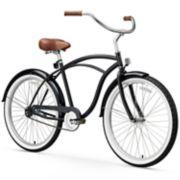 Men's sixthreezero Classic Edition 26-Inch Beach Cruiser Bike