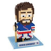 Forever Collectibles New York Rangers Henrik Lundqvist BRXLZ 3D Puzzle Set