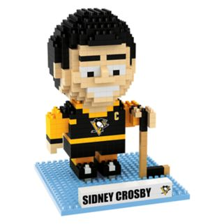 Forever Collectibles Pittsburgh Penguins Sidney Crosby BRXLZ 3D Puzzle Set