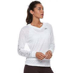 Women's Nike Sportswear Long Sleeve Graphic Top