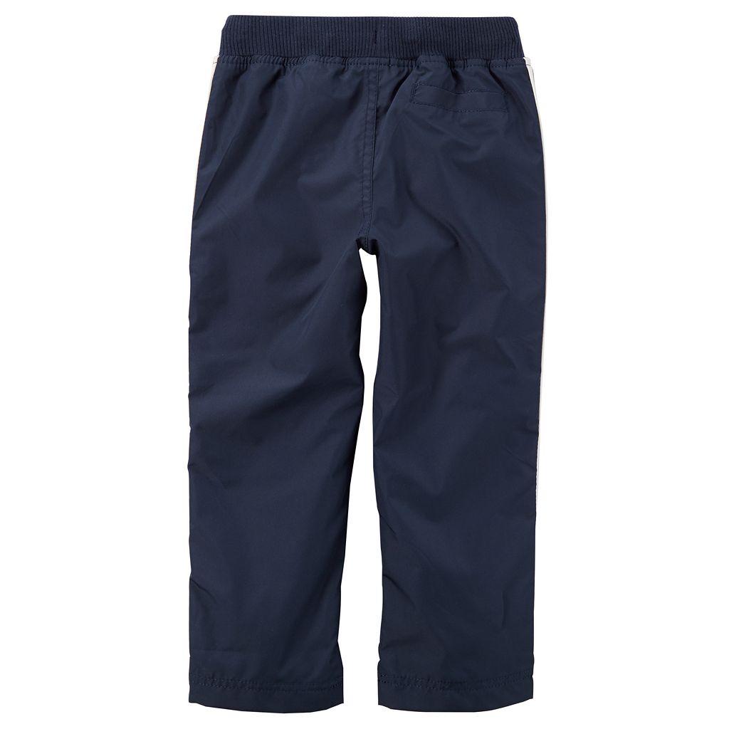 Baby Boy Carter's Matte Woven Athletic Pants