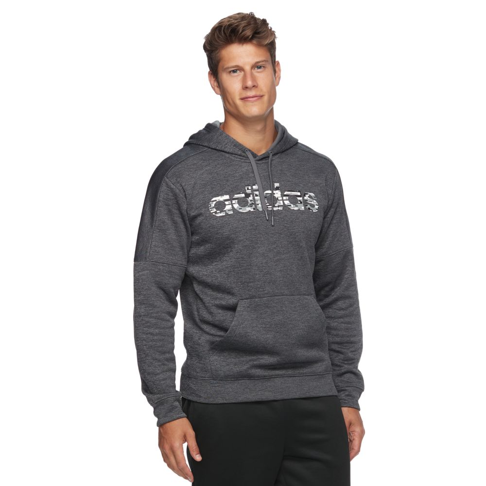 adidas Linear Logo Pullover Hoodie