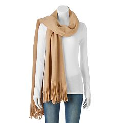 Apt. 9® Solid Brushed Fringe Oblong Scarf