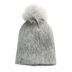 Women's Apt. 9® Solid Brushed Knit Pom Pom Beanie