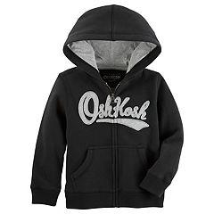 Toddler Boy OshKosh B'gosh® Logo Zip Hoodie