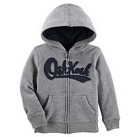 Toddler Boy OshKosh B'gosh® Logo Zip Hoodie