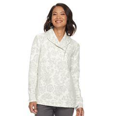 Women's Croft & Barrow® Shawl Collar Sweater