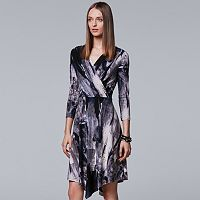 Women's Simply Vera Vera Wang Faux-Wrap Dress