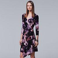Women's Simply Vera Vera Wang Faux-Wrap Dress