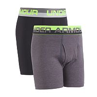 Boys 8-20 Under Armour 2-Pack Boxerjock Boxer Briefs