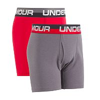 Boys 6-20 Under Armour 2-Pack Boxerjock Boxer Briefs
