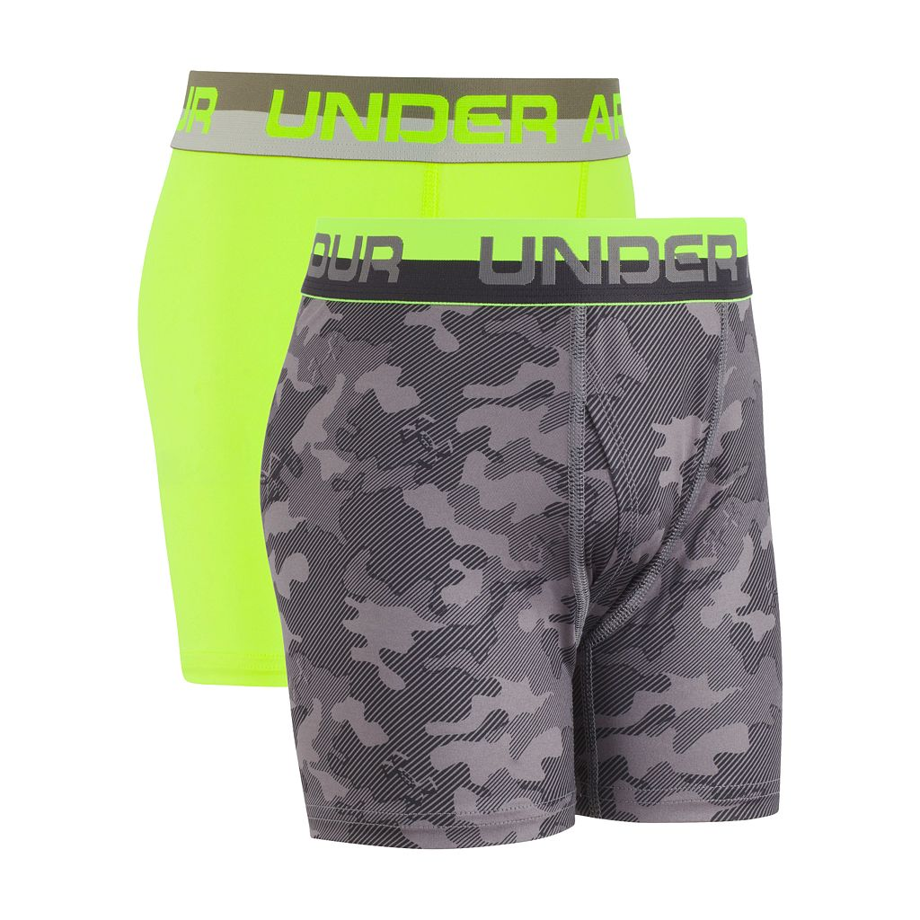 Boys 6-20 Under Armour 2-Pack Performance Boxer Briefs