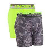 Boys 6-20 Under Armour 2-Pack Performance Boxer Briefs