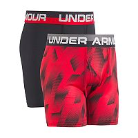 Boys 6-20 Under Armour Sandstorm 2-Pack Boxer Briefs